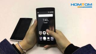 HOMTOM HT7 first official power on video