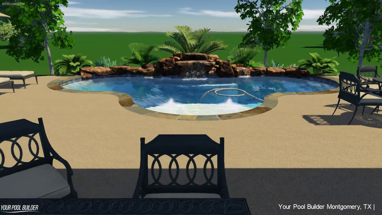 Inground Pool Design 77316 | Your Pool Builder Montgomery