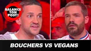 Le débat de Balance Ton Post : Bouchers VS Vegans !