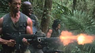 Predator Shooting Scene