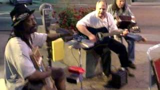 Street Musicians In Lawrence, Kansas