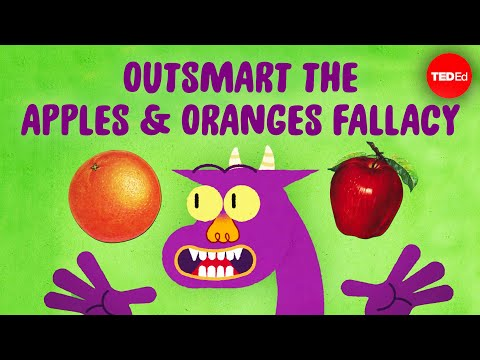 The Apples and Oranges Fallacy