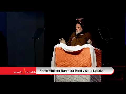 Highlights of Prime Minister Narendra Modi visit to Ladakh