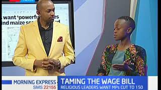 Taming wage bill:Clergy say National debt is in the red and also the country is over represented