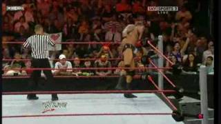 WWE RAW 04/27/09 PART 6/9