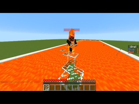 Minecraft LAVA RACE #1 with Vikkstar123 & PrestonPlayz (Minecraft Parkour PVP Race)