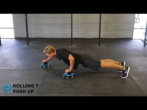 Rolling Y Push Up