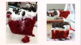 Easy Recipe : Oreo - Red Velvet Poke Cake - DIY Projects