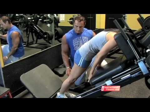 Instructional Fitness - Reverse Hack Squats