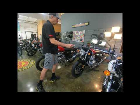 2021 Royal Enfield INT650 in Louisville, Tennessee - Video 1