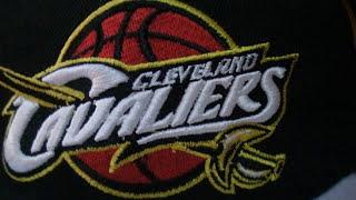 Баскетбольные кепки NBA  CAVS - видео 3