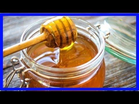 Wie des Honigs, um zu schmieren abzumagern