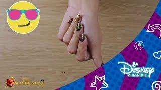 Los Descendientes 2 : Nail Art - Mal | Disney Channel Oficial