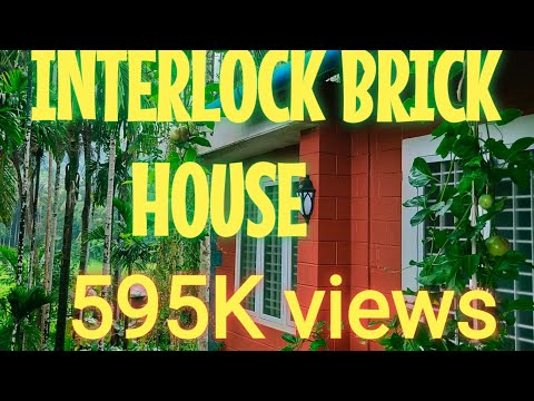 How to Reduce House cost | Low cost construction technology... interlocking bricks..