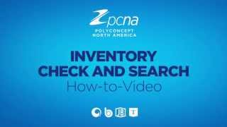 How-To Video: Inventory Check and Search