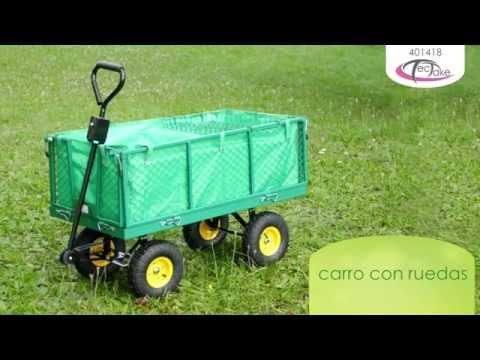 TecTake - carro con ruedas