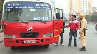 Tin Tức 24h: Hà Nội xử lý nghiêm xe khách dừng đỗ sai quy định