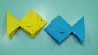 Pez De Papel - Origami - Fish Tutorial