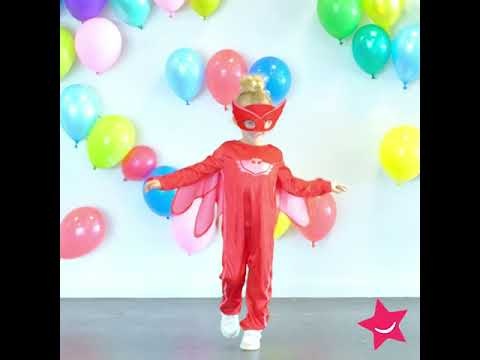 Disfarce para criança Corujinha - Pj Masks