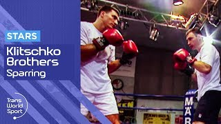 Young Klitschko Brothers on Trans World Sport