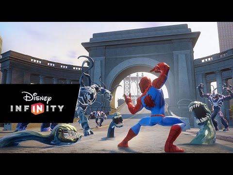 Видео № 0 из игры Disney Infinity 2.0 (Marvel) Набор 2+1: Человек Паук (Человек Паук, Нова, Локация Человек Паук) (Б/У)