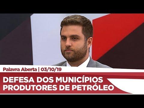 Wladimir Garotinho detalha redistribuição dos royalties do petróleo