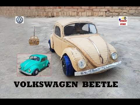 Wow super rc volkswagen beetle 1965 how to make cardboard beetle diy