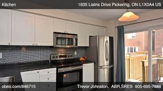 preview picture of video '1835 Liatris Drive Pickering ON L1X0A4'