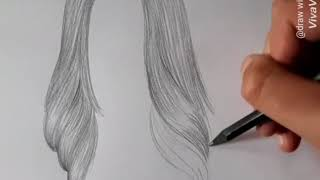How To Draw Hair Easy Free Video Search Site Findclip