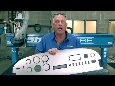 24. ShopSabre CNC IS Series – Aluminum Instrument Panelvideo thumb