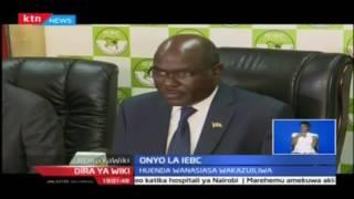 IEBC laonya wanasiasa wanaoanzisha vurugu