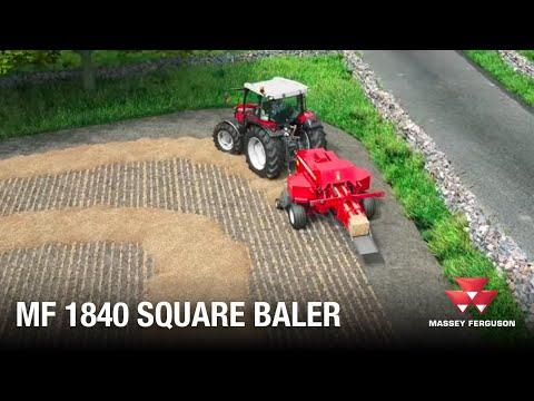 MF 1840 Square Baler | Animation (видео)