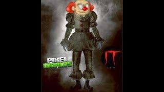 Horror Movie IT But In Pixel Worlds!!