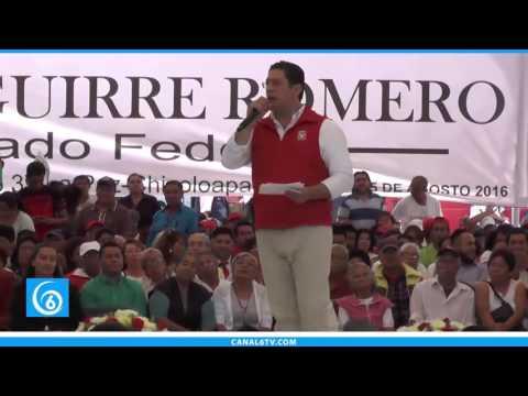 Primer informe de actividades del diputado federal Andrés Aguirre
