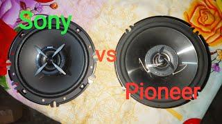 Sony vs Pioneer sound test