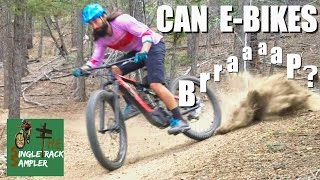 CAN E-BIKES BRAP MTB test ride Specialized Levo and Trek Powerfly 8 E-bikes | Singletrack Sampler