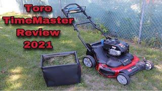 """Toro 30"""" Timemaster Review (2021)"""