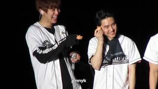 160428 EXOrdium in LA D.O. Lucky One + Ment + Angel