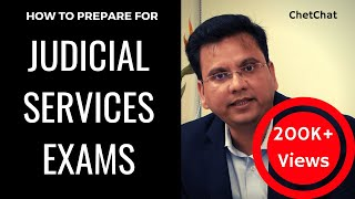 How to Study for Judicial Services Exams without Coaching in Hindi | Eligibility, Books | ChetChat