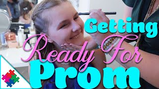 Getting Ready For Prom - Special Needs Prom, Night To Shine