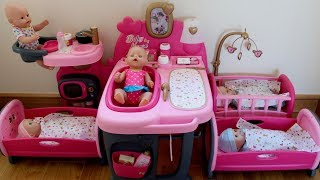 Baby Born Baby Annabell In The Nursery Center Compilation,  Pretend Play With Baby Dolls