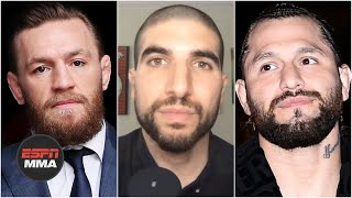 Daniel Cormier and Ariel Helwani react to Conor McGregor's retirement tweet after UFC 250 as well as the different issues that McGregor, Henry Cejudo, Jon Jones and Jorge Masvidal currently have with the UFC. DC says that the UFC just needs to get McGregor a fight, whether it be vs. Nate Diaz, Anderson Silva or someone else.  #HelwaniShow #UFC #MMA ✔ For more UFC, sign up for ESPN+ https://plus.espn.com/ufc ✔ Get the ESPN App: http://www.espn.com/espn/apps/espn ✔ Subscribe to ESPN on YouTube: http://es.pn/SUBSCRIBEtoYOUTUBE ✔ Subscribe to ESPN FC on YouTube: http://bit.ly/SUBSCRIBEtoESPNFC ✔ Subscribe to NBA on ESPN on YouTube: http://bit.ly/SUBSCRIBEtoNBAonESPN ✔ Watch ESPN on YouTube TV: http://es.pn/YouTubeTV  ESPN on Social Media: ► Follow on Twitter: http://www.twitter.com/espn ► Like on Facebook: http://www.facebook.com/espn ► Follow on Instagram: http://www.instagram.com/espn  Visit ESPN on YouTube to get up-to-the-minute sports news coverage, scores, highlights and commentary for NFL, NHL, MLB, NBA, College Football, NCAA Basketball, soccer and more.   More on ESPN.com: http://www.espn.com