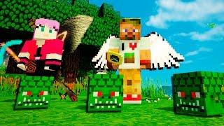 Опасные битвы в Minecraft 116 - Босс НАГА