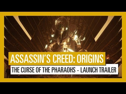 Assassin's Creed Origins: The Curse Of The Pharaohs Offline with DVD [PC Games]