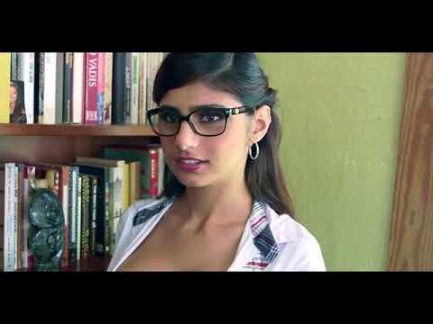 Mia Khalifa In Library   YouTube