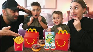 1DAG HETZELFDE EETSCHEMA ETEN ALS DE KIDS! | #321