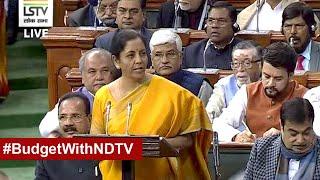 Budget 2020 Full Speech: Finance Minister Nirmala Sitharaman Presents Her Second Budget