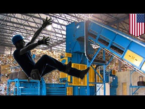 Trabajador en planta de reciclaje de la Florida muere luego de caer en maquina compactadora
