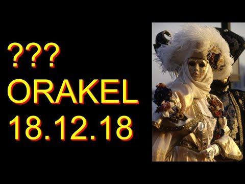 ??? ORAKEL: 18.12.2018 (Dienstag) (видео)