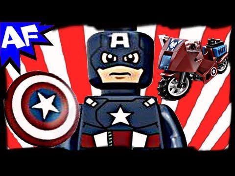 Vidéo LEGO Marvel Super Heroes 6865 : La vengeance de Captain America